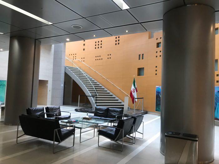 イラン・イスラム共和国大使館内