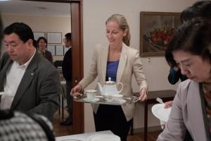 国際芸術家センター「大使館でお茶を第3回セルビア大使館」