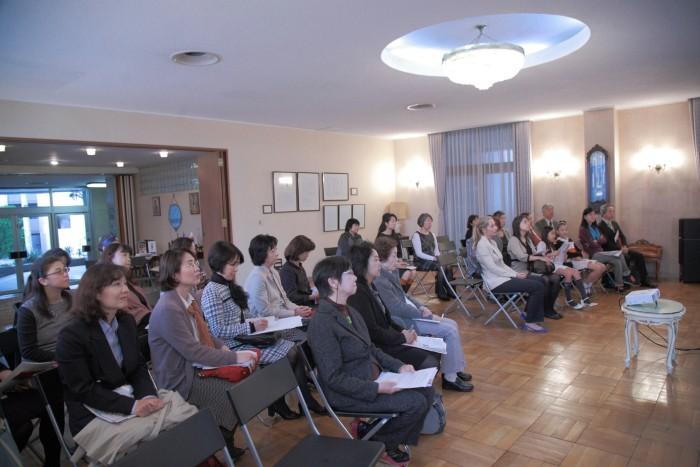 国際芸術家センター「大使館でお茶を第2回セルビア大使館」お国プレゼンタイム。