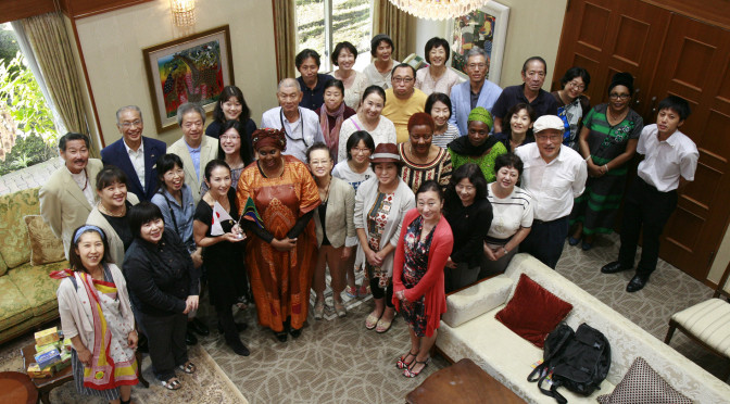 【大使館でお茶を】join us for tea at the embassy 第1回タンザニア