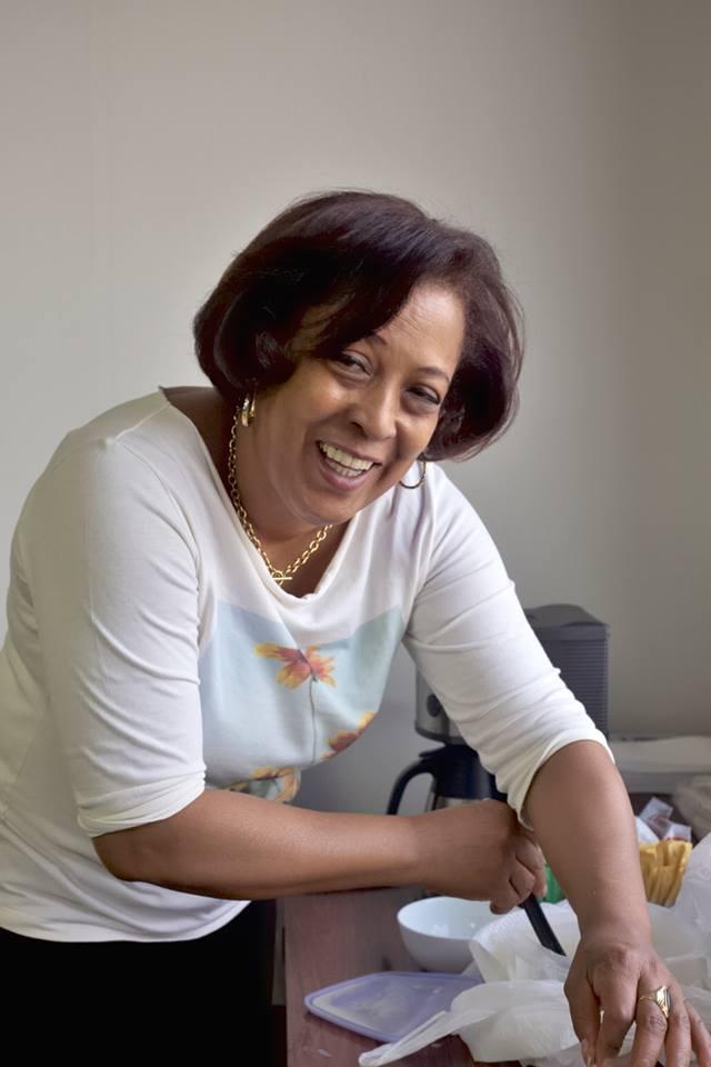 ドミニカ共和国大使館シェフMs. Yudelka Salvador