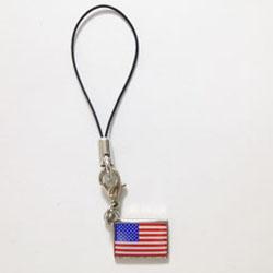 アメリカ国旗ストラップ