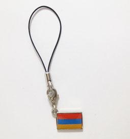 アルメニア国旗ストラップ