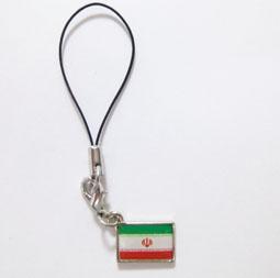 イラン国旗ストラップ