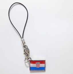 クロアチア国旗ストラップ