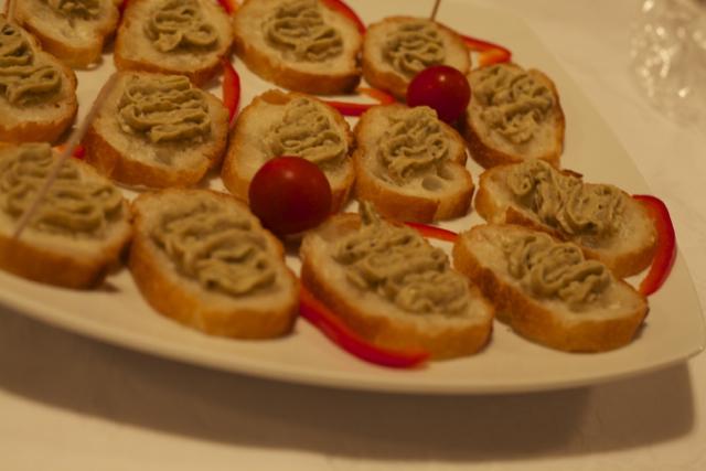 「大使館でお茶を第8回ルーマニア大使館」茄子ペーストのサラダ Salata de vinete(サラダ・デ・ヴィネテ)