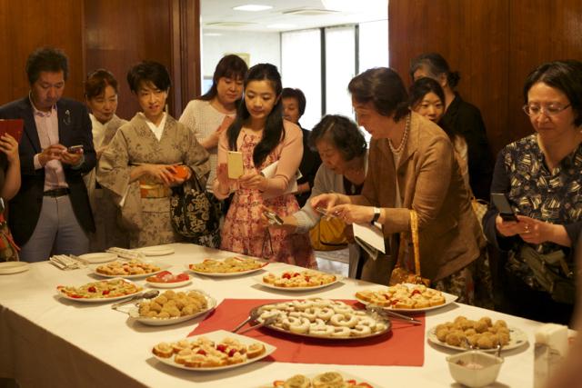 国際芸術家センター「大使館でお茶を第8回ルーマニア」ルーマニアの軽食
