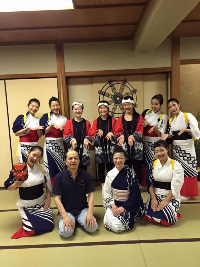 国際芸術家センター×TAKENOBU共催イベント、心組、日本民族舞踊パフォーマンス