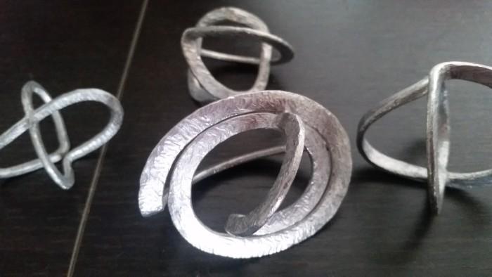 国際芸術家センター×TAKENOBU共催イベント「匠TAKENOBUCollection」 豊田洋次さんのアルミニウム彫刻作品。
