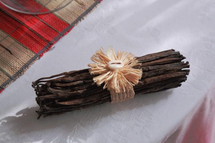 「大使館でお茶を第5回マダガスカル大使館」マダガスカル産バニラ