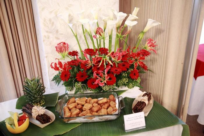 「大使館でお茶を第5回マダガスカル大使館」マダガスカル料理バナナのフライ