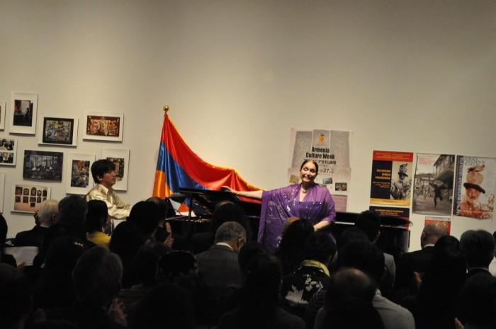 アルメニア大使館共催イベント「アルメニア文化週間2016」レセプションの様子