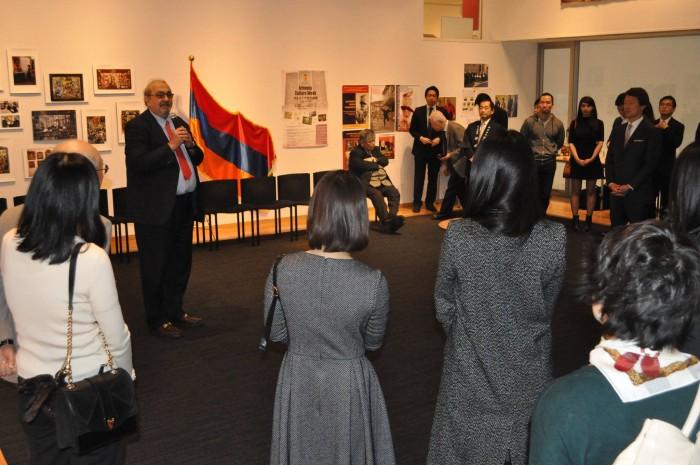 アルメニア大使館共催イベント「アルメニア文化週間2016」レセプション風景