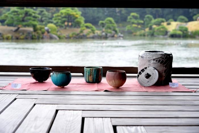 国際芸術家センター×TAKENOBU共催イベント、出展者、手びねり陶芸作品