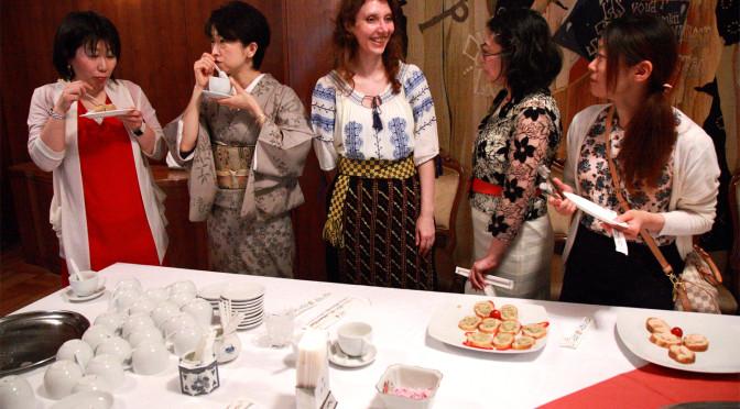 【大使館でお茶を】join us for tea at the embassy第8回ルーマニア