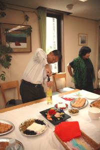「大使館でお茶を第9回ボスニア・ヘルツェゴビナ大使館後半懇親タイム