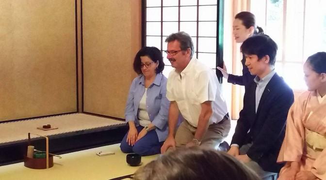 「グァテマラ大使と共に学ぶ茶事と懐石@駒場旧前田邸迎賓館」