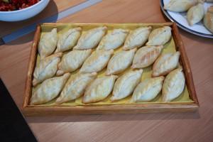 リトアニアの伝統的なセイボリー、キビナイ。