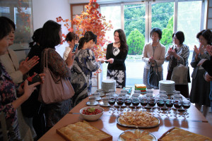 「大使館でお茶を第11回リトアニア共和国」