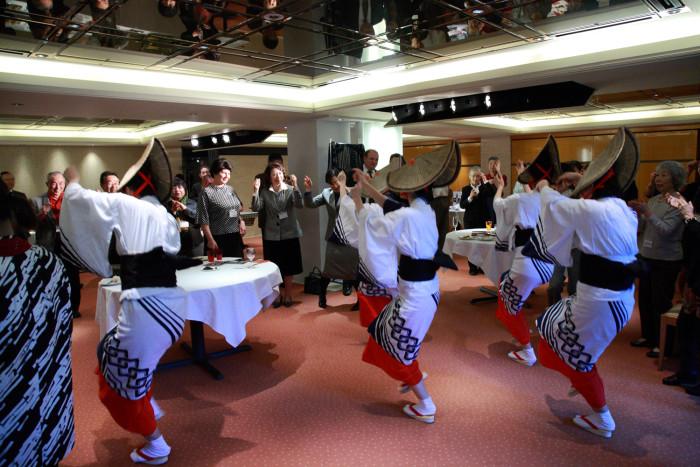 IAC-国際芸術家センターNPO法人10周年記念パーティー