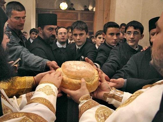 セルビア、スラヴァのお祝い