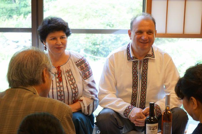 モルドバ大使夫妻