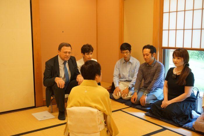 ブルガリア大使と共に学ぶ茶席と懐石