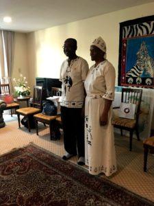 ジンバブエ大使夫妻
