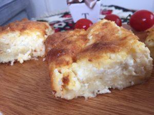大使館のとっておきレシピセルビア 卵と白チーズのパイ ギバニッツァ