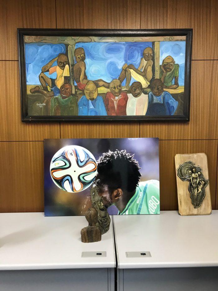 大使館でお茶を第19回ナイジェリア大使館