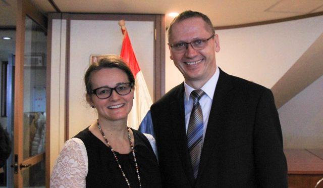 「大使館でお茶を第12回クロアチア大使館」