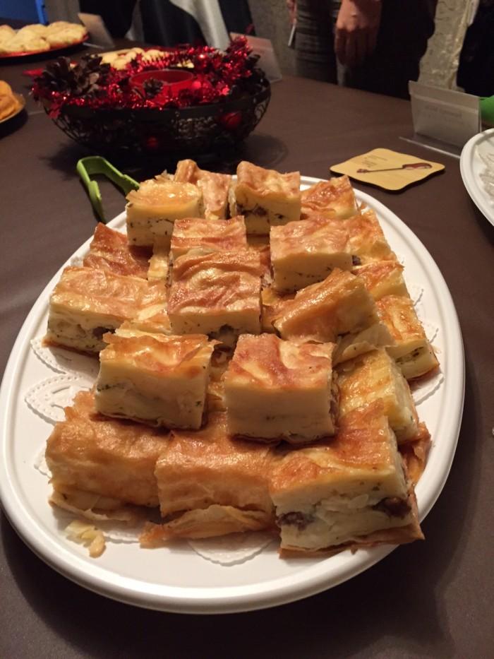 国際芸儒家センター「大使館でお茶を第4回アゼルバイジャン大使館」アゼルバイジャン料理アトリビョレク