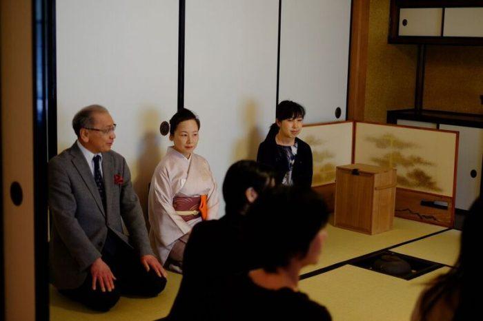 「リトアニア大使夫人と共に学ぶ茶事と懐石@駒場前田邸迎賓館」