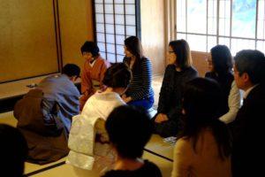リトアニア大使夫人と共に学ぶ茶事と懐石@駒場前田邸迎賓館
