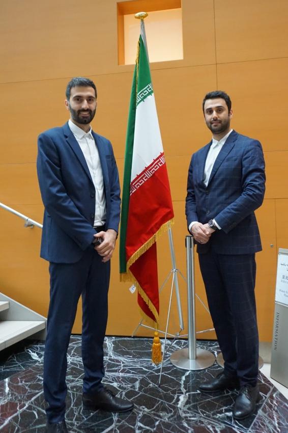 イラン・イスラム共和国大使館顧問のお2人