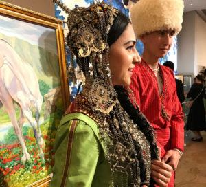 大使館でお茶を第20回トルクメニスタン大使館 @ トルクメニスタン大使館