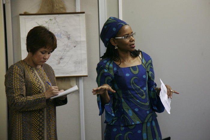 国際芸術家センター「大使館でお茶を第3回ボツワナ大使館」
