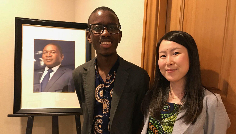 大使館でお茶を第23回モザンビーク共和国大使館