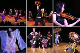 日本民族舞踊団のミニ公演
