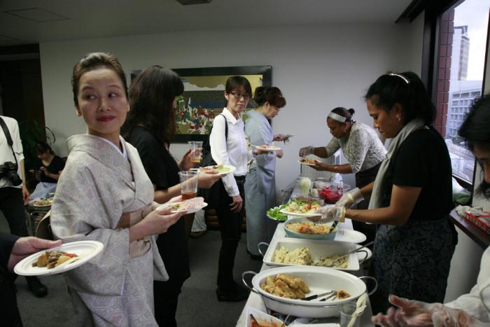 「大使館でお茶を第10回グァテマラ大使館」
