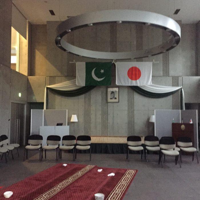 大使館でお茶を第13回パキスタン大使館byIAC国さ芸術家センター